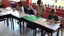 Math centres on the last week of school